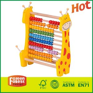 Wooden Abacus Classic Math Educational Counting Toys with Color Beads With Kids Toy Abacus
