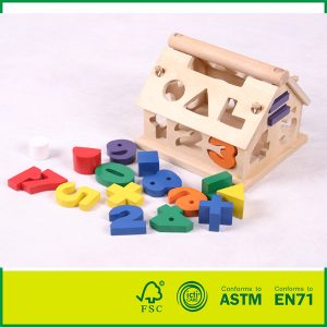 Best Price Intelligent Wood Toys For Kids Birch Wood Pine Wood Geometric Toy