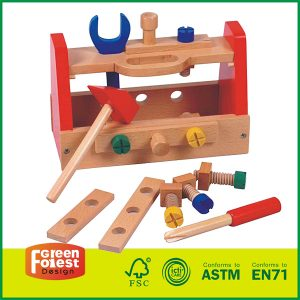 Hot Sale Kid Wooden Tool Box Toy