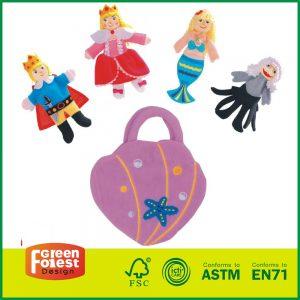 "Bagged Finger Puppets ""Story of Little Mermaid"" finger puppet"