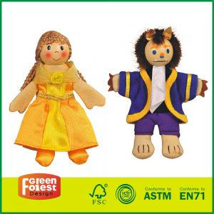Finger Puppets Set Beauty and the Beast
