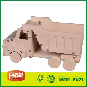 Intelligent Children toys kit for Wood DIY Vehicle Truck