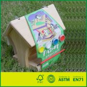 Build and Paint Intelligent DIY Toys for Kids Pine Wood DIY Bird House