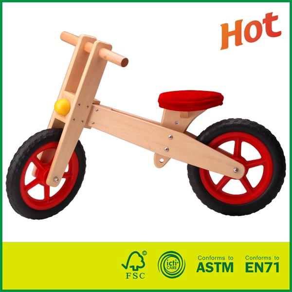 20BIK01A Training Bike For Toddlers and Kids Wooden Balance Running Bike