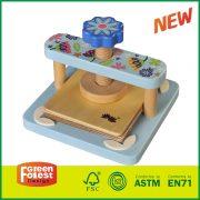 Kids Educational Toy MDF Outdoor Garden Flower Toy Set For DIY Wooden Flower Press