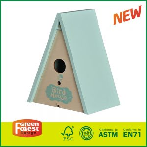 Hot Selling Wooden Outdoor Kids Toy Children's Triangle Bird House