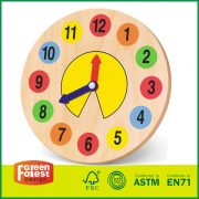 Wooden Clock - Educational Toy