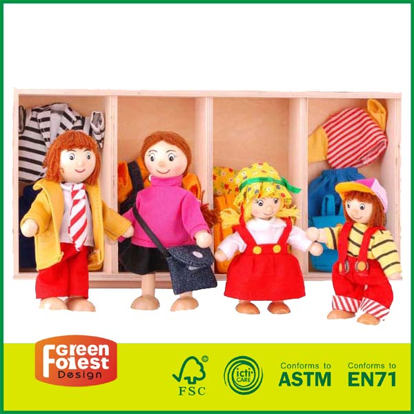 12DRE01 Poseable Dolls Pretend Play Toys
