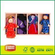 Wooden Doll Dress Up Box