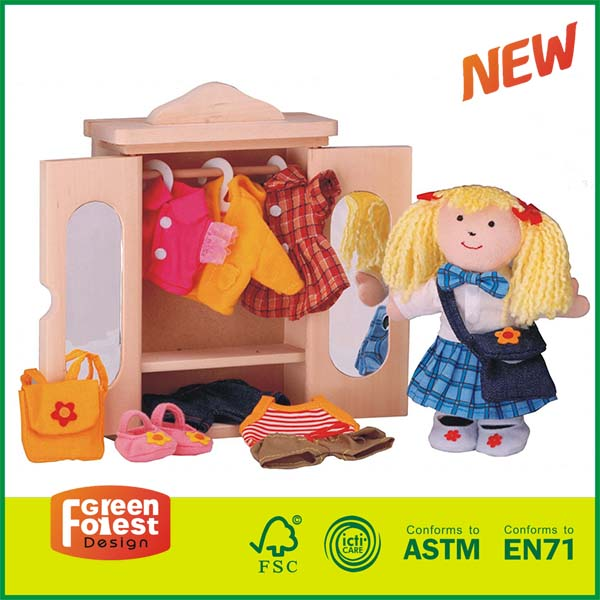 12DRE04B Dress Up the Pretty Girl  educational toy for kids
