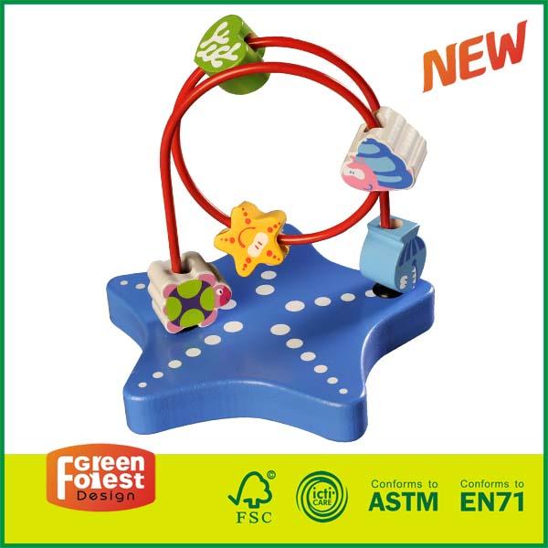 12MAZ05C wooden bead maze table, bead roller coaster toy ikea,  bead roller coaster amazon,