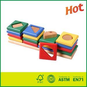 Best Price Intelligent Wood Toys For Kids Birch Wood Pine Wood Geometric Toy
