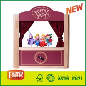 High Quality 2 in 1 Tabletop Puppet Show Puppet Theater for Kids