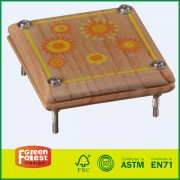 20DIS05A New Design Wooden Toy Outdoor Kids ToyFlower Press Kit
