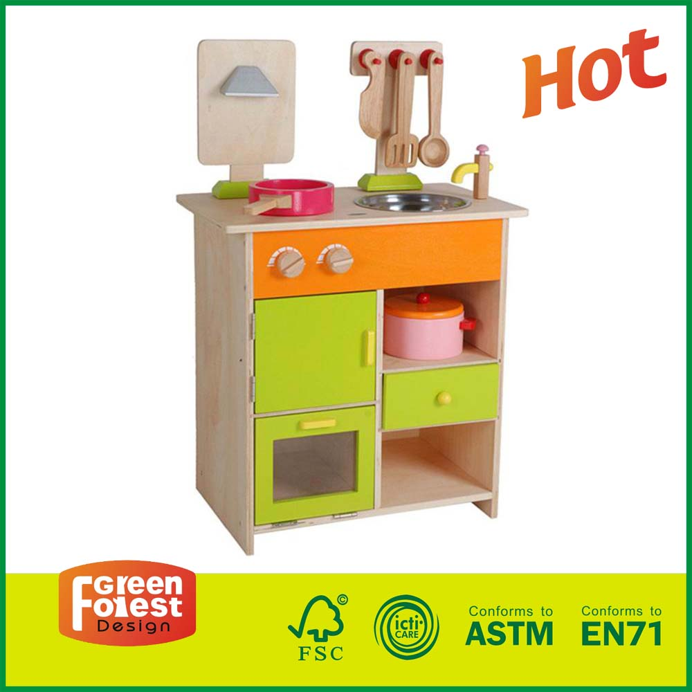 97ms06 high quality hot sale kids cooking kitchen toy set for Funny kitchen set